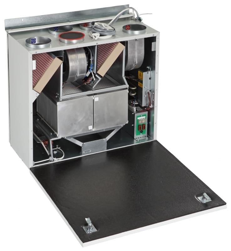 Приточно-вытяжная установка с рекупераций тепла - вентиляция в квартире