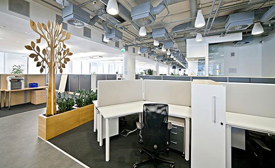 Вентиляция в офисе бизнес центра